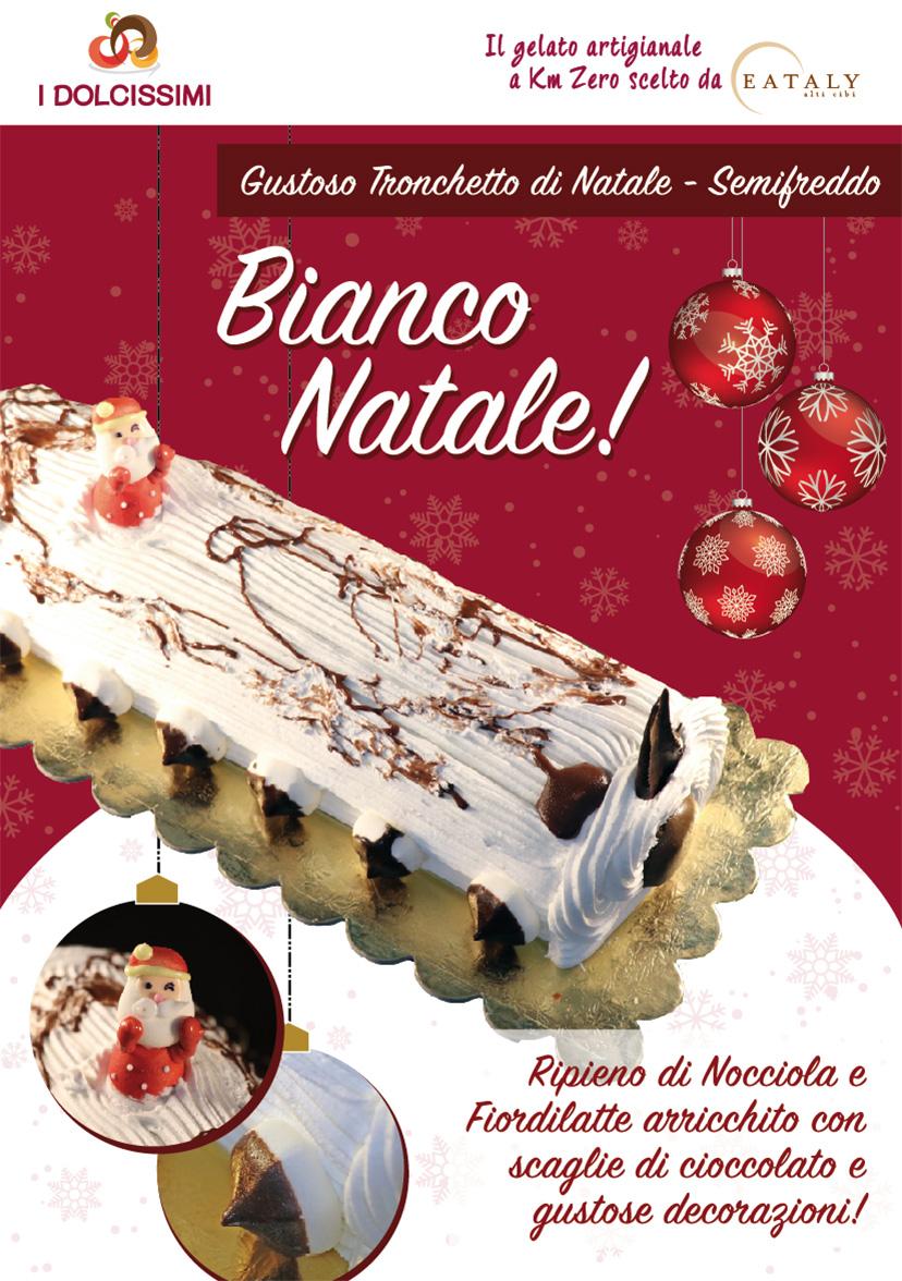Tronchetto Bianco Di Natale.Tronchetto Di Natale I Dolcissimi
